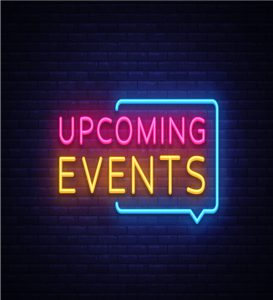 create upcoming events